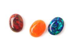 Opals do laboratório Foto de Stock Royalty Free