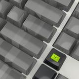 Opancerzanie kampanii marketingowej klucz z opancerzanie koperty ikoną Fotografia Stock