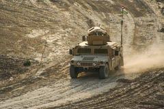 Opancerzeni pojazdy w Afganistan Zdjęcie Stock