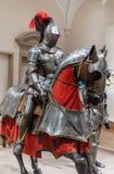 Opancerzenie dla mężczyzna i konia - 1565 Obrazy Royalty Free