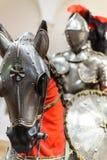 Opancerzenie dla mężczyzna i konia - 1565 Zdjęcia Royalty Free