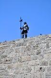opancerzenie rycerz Rhodes zdjęcia royalty free