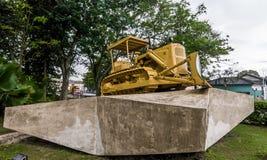 Opancerzonego pociągu pomnik, Santa Clara, Kuba fotografia stock