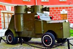 Opancerzony samochód Fotografia Stock