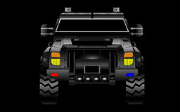 Opancerzony SUV wektor Obraz Stock