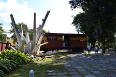 Opancerzony taborowy pomnikowy Santa Clara, Kuba zdjęcie stock