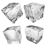 Opaque ice cubes Royalty Free Stock Image