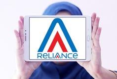 Oparcie komunikacj logo Obraz Royalty Free