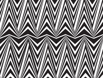 Opart background editable vector opticaly movement Royalty Free Stock Image