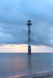 Oparta latarnia morska Kiipsaare Zdjęcie Royalty Free