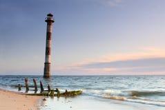 Oparta latarnia morska Kiipsaare Obraz Stock