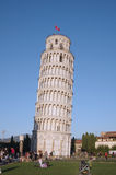 Oparty wierza Pisa Fotografia Stock
