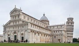 Oparty wierza Pisa Zdjęcia Royalty Free