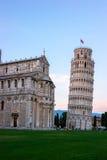 Oparty wierza Pisa, Włochy Obraz Stock