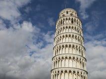 Oparty wierza Pisa w Tuscany, Włochy Zdjęcie Stock