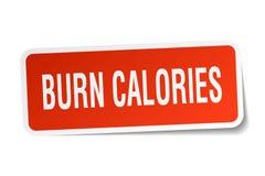 oparzenie kalorii majcher ilustracja wektor