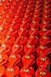 oparzenie konstanty nieustannie podwórzowy gasideł ogień zakłada zagrożenia kadzidłowego lianhua parka shanu świątyni tam zagroż Zdjęcia Royalty Free