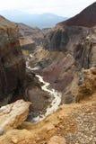 opasniy的峡谷 库存图片