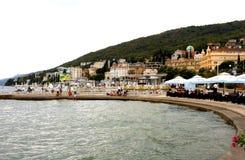 OPATIJA - Хорватия Стоковое Изображение RF