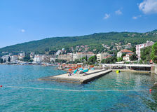 Opatija,adriatic Sea,Istria,Croatia Stock Photo