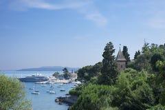 Opatija Bay, Croatia tourism Royalty Free Stock Photos