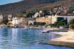 Opatija, Croatia foto de stock