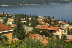 Opatija on Croatian coast Royalty Free Stock Images