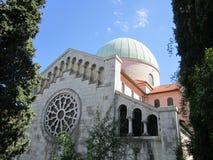Opatija em um dia de verão ensolarado (Croácia) fotos de stock royalty free