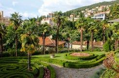 Opatija Kroatien Royaltyfria Foton