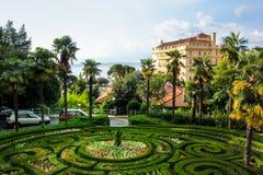 Opatija, Kroatien Stockfotografie