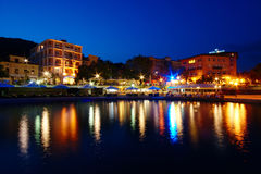 Opatija By Night Stock Photography