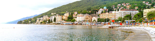 Opatija panorama Royalty Free Stock Photography
