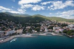 Opatija's eye view. In Croatia Stock Photos
