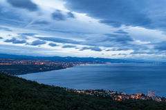 Opatija's eye view Royalty Free Stock Images