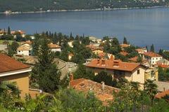 Opatija sur la côte croate Images libres de droits