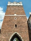 Opatowska Gate in Sandomierz Stock Photography