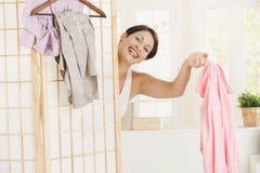 opatrunkowa szczęśliwa kobieta Zdjęcie Stock
