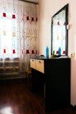 Opatrunkowego stołu whith lustro Fotografia Royalty Free