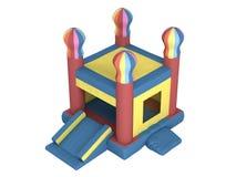 Opblaasbaar kasteel Royalty-vrije Stock Afbeelding