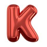 Opblaasbare brieven van het alfabet 3d Stock Foto's