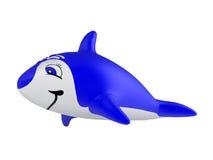 Opblaasbare dolfijn Royalty-vrije Stock Foto's