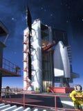 Opblaasbare toren Stock Afbeelding