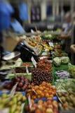 Opbrengst op een landbouwersmarkt Stock Afbeelding