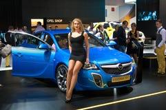 OPC διακριτικών Opel Στοκ Εικόνες