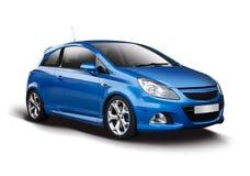 OPC azul do corsa de Opel imagens de stock