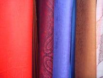 Opción coloreada multi de la bufanda fotografía de archivo libre de regalías
