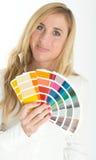 Opción del color Imagenes de archivo