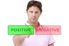 Opción positiva Imagen de archivo