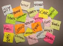 Opciones de la vida - tomar decisiones Imagen de archivo