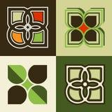 Opciones del logotipo Foto de archivo libre de regalías